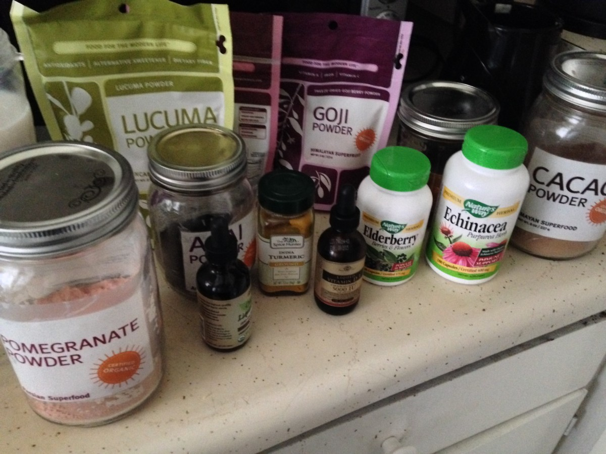 Superfood Power Smoothie with Navitas Naturals
