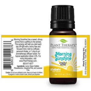 Plant Therapy Spring Blends Set 10ml morning sunshine