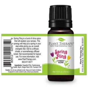 Plant Therapy Spring Blends Set 10ml spring fling