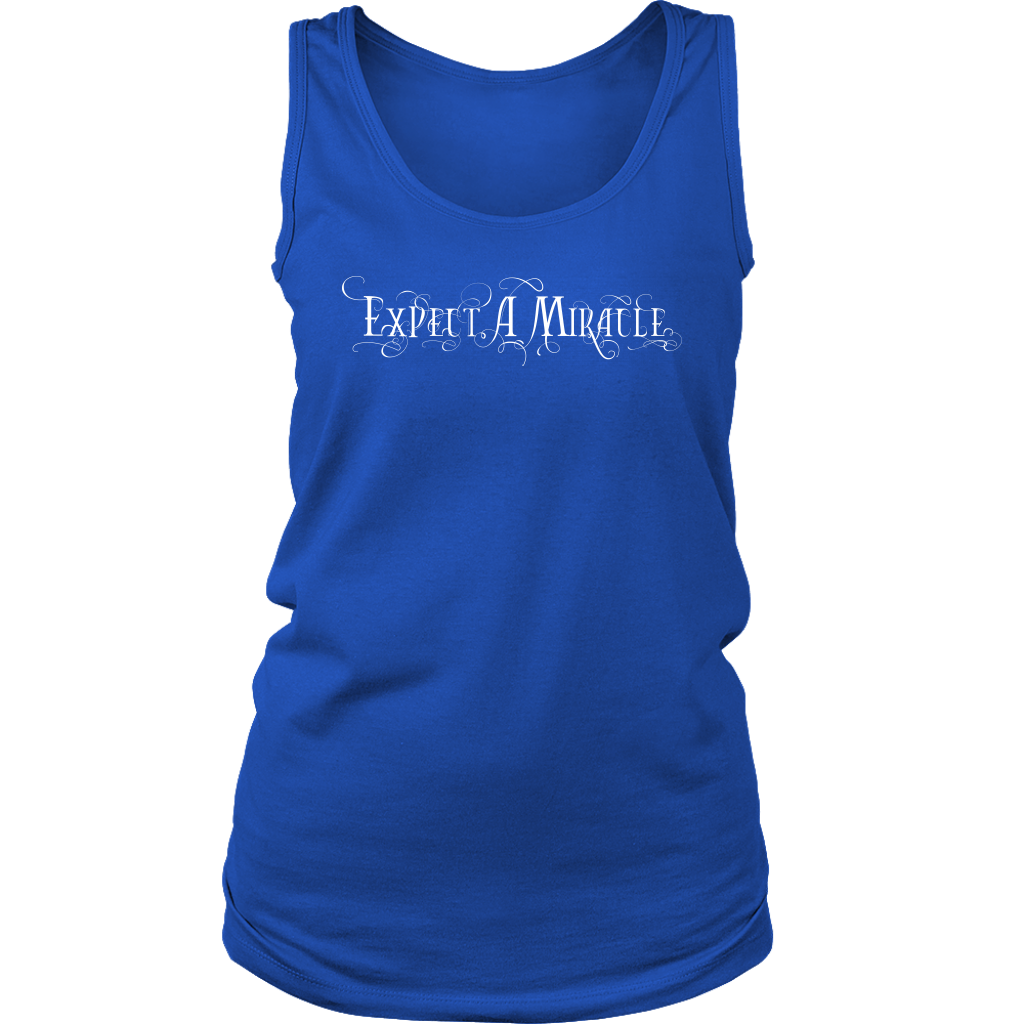 Expect a Miracle: Women's Tank Top