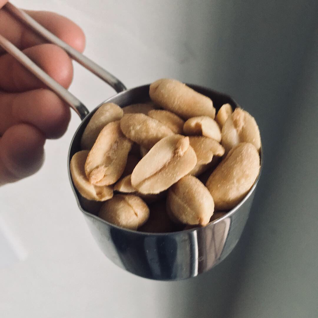 "What to do with 1/4 cup of ""any nut"" on the 6-week Pro-TF Fitness challenge"
