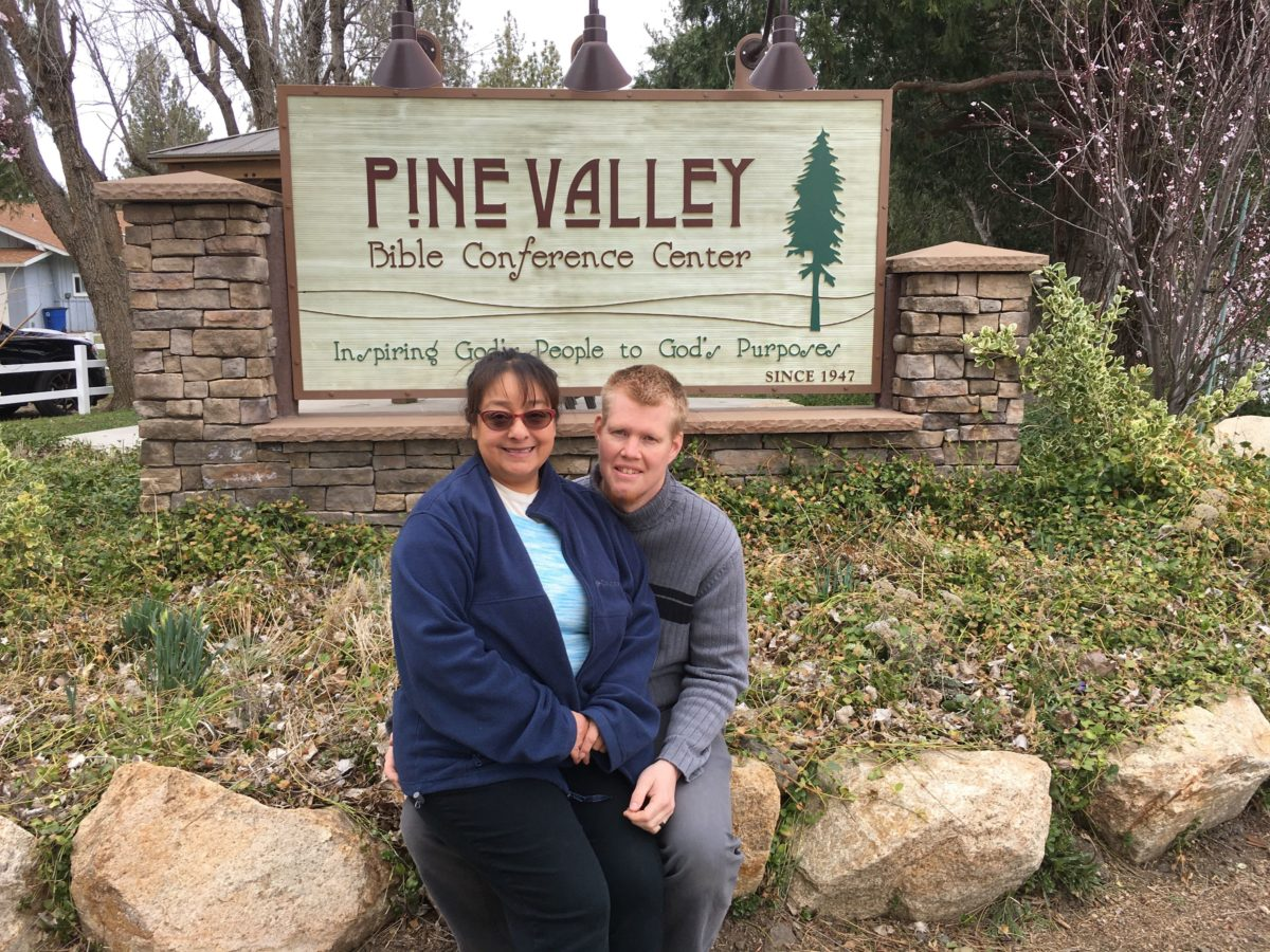 Daniel and Luci at Pine Valley Bible Conference Center